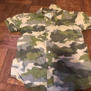 Camouflaged top